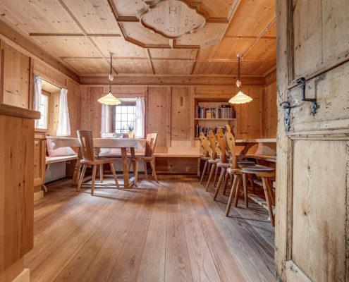 Breite   Larix Dielen in Lärche und Zirbe, Südtirol, Holzboden ...
